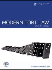 Modern Tort Law ebook by V.H. Harpwood