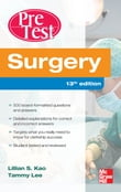 Surgery PreTest Self-Assessment and Review, Thirteenth Edition