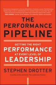 The Performance Pipeline - Getting the Right Performance At Every Level of Leadership ebook by Stephen Drotter