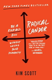 Radical Candor - Be a Kick-Ass Boss Without Losing Your Humanity ebook by Kim Scott