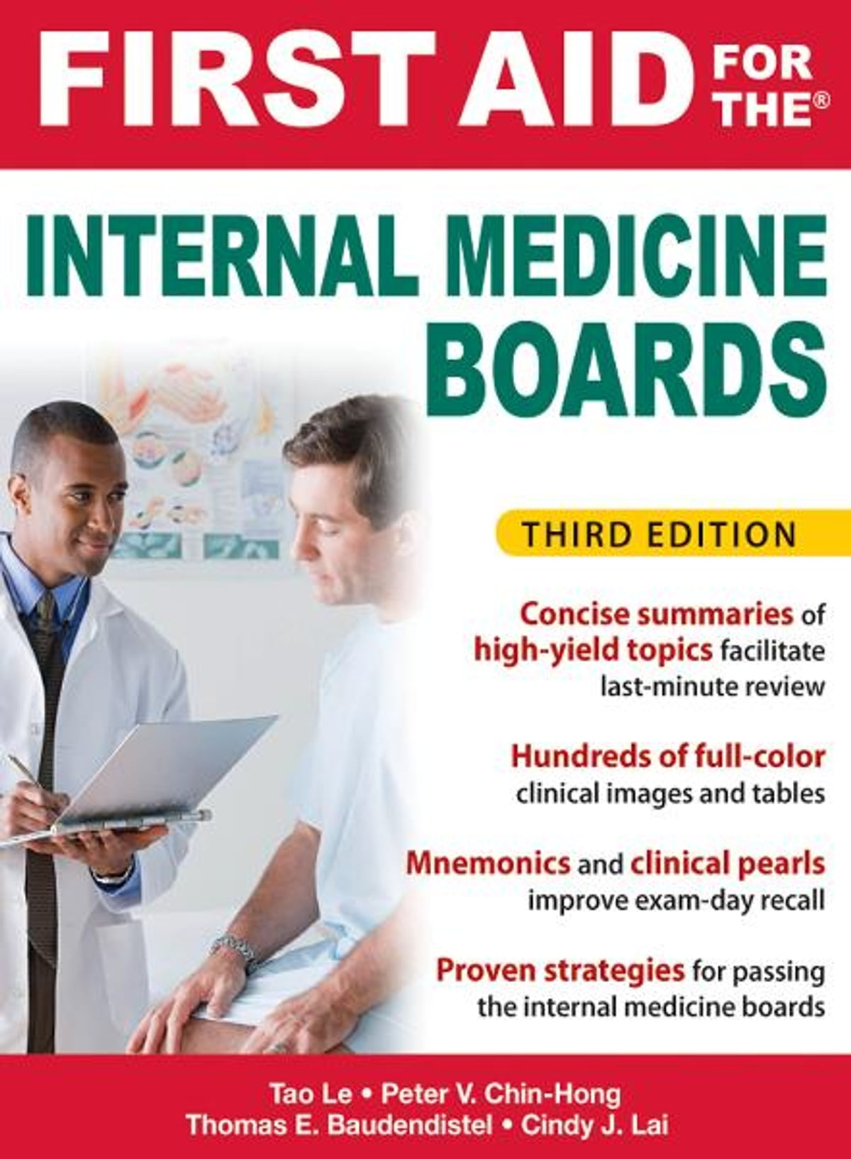 First Aid For The Internal Medicine Boards, 3rd Edition Ebook By Tao Le, Tom