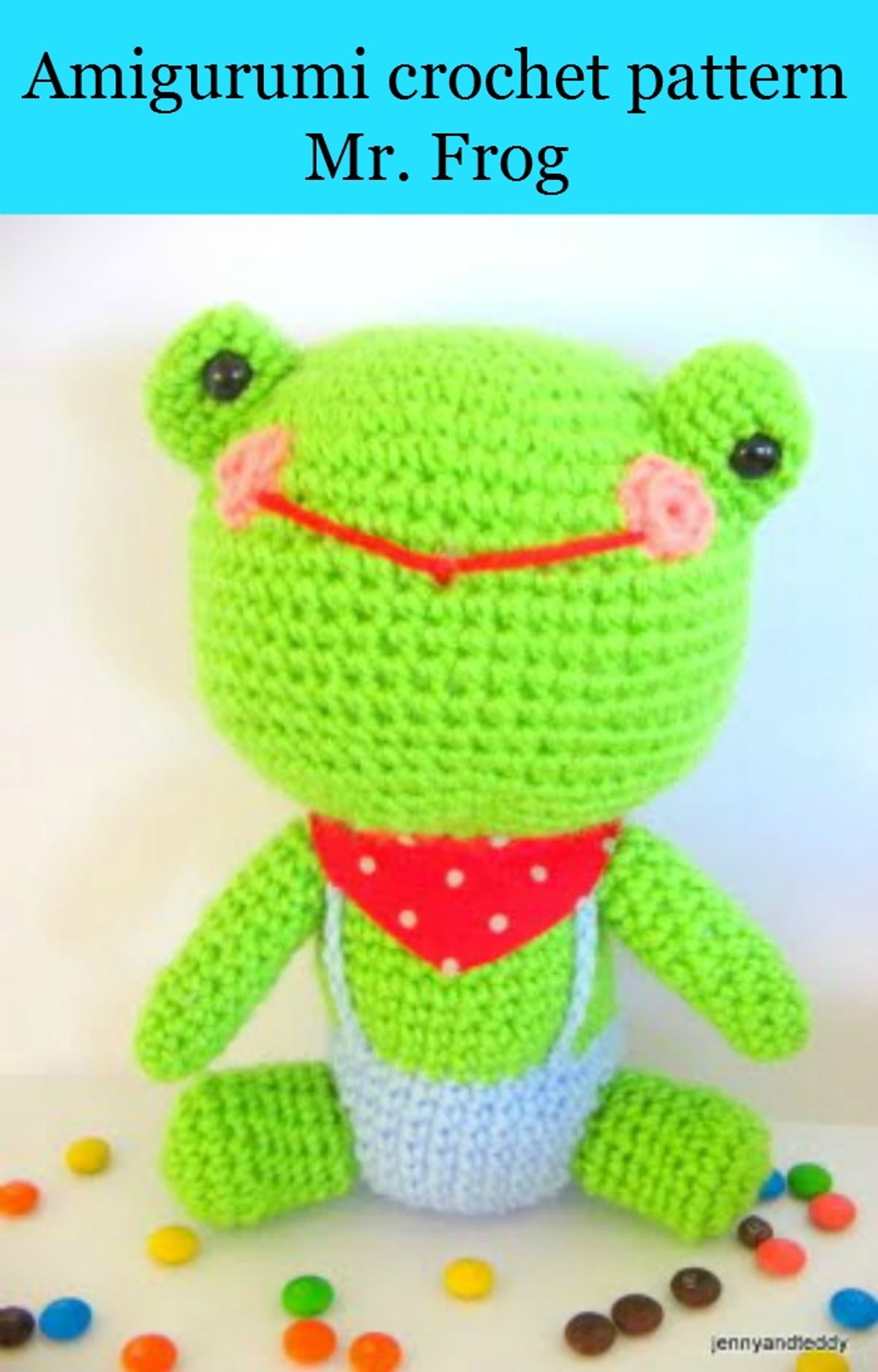 Free Ebook Amigurumi Crochet Pattern Mr Frog Ebook By Teerapon Chaniam   1230000139248  Rakuten Kobo