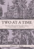 Two at a Time ebook by Duane C. Acker