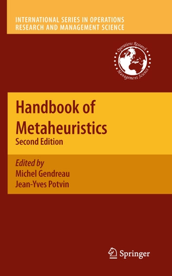 Handbook of Metaheuristics ebook by