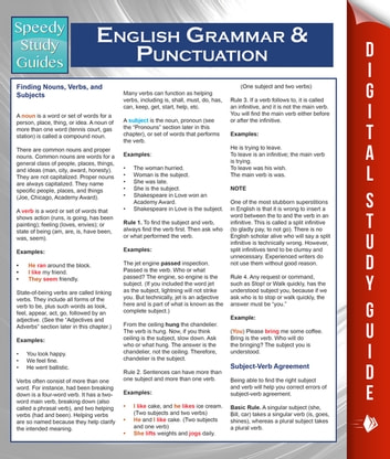 English Grammar And Punctuation (Speedy Study Guides) ebook by Speedy Publishing