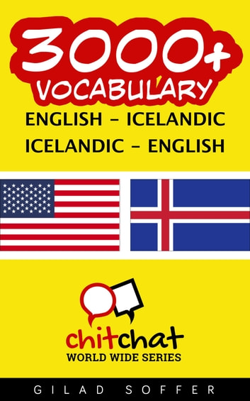 3000+ Vocabulary English - Icelandic ebook by Gilad Soffer