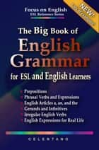 The Big Book of English Grammar for ESL and English Learners: Prepositions, Phrasal Verbs, English Articles (a, an and the), Gerunds and Infinitives, Irregular Verbs, and English Expressions ebook by Thomas Celentano