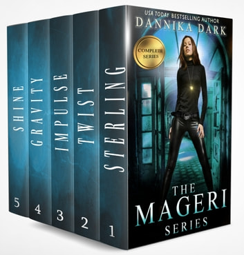 The Mageri Series Books 1-5 (Complete Series) ebook by Dannika Dark