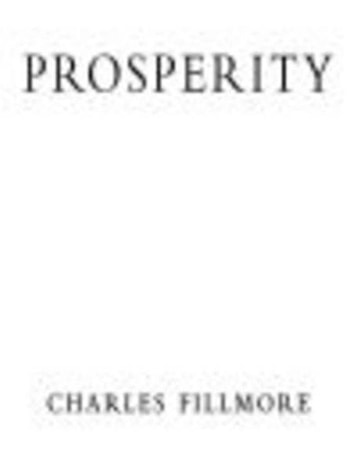 Prosperity ebook by Charles Fillmore