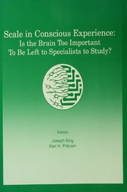 Scale in Conscious Experience - Is the Brain Too Important To Be Left To Specialists To Study? ebook by