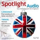 Englisch lernen Audio - Winterabenteuer in Kanada - Spotlight Audio 12/12 - Winter adventures in Canada audiobook by