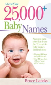 25,000+ Baby Names ebook by Bruce Lansky