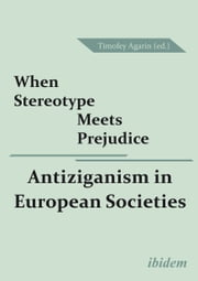 When Stereotype Meets Prejudice - Antiziganism in European Societies ebook by Timofey Agarin