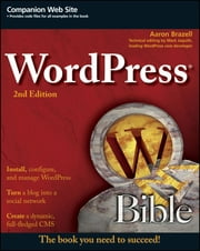 WordPress Bible ebook by Aaron Brazell