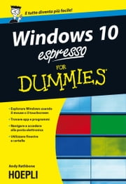 Windows 10 espresso For Dummies ebook by Andy Rathbone