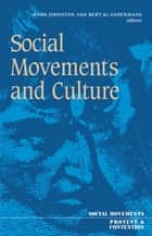Social Movements And Culture ebook by Hank Johnston