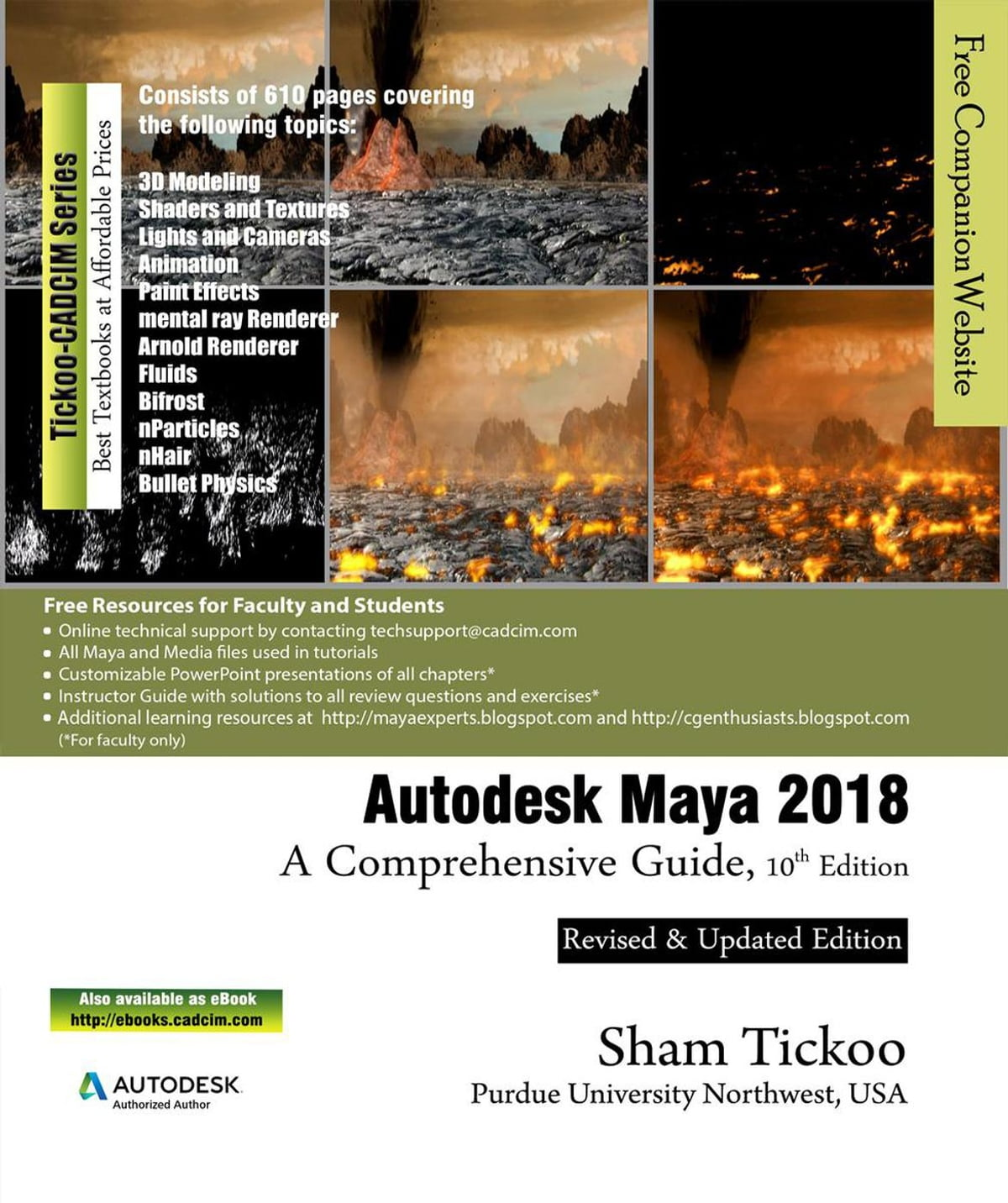 Autodesk Maya 2018: A Comprehensive Guide, 10th Edition ebook by Prof Sham  Tickoo - Rakuten Kobo