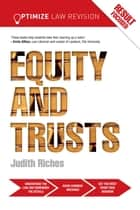 Optimize Equity and Trusts ebook by Judith Riches