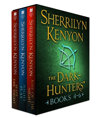 The Dark-Hunters, Books 4-6 - (Kiss of the Night, Night Play, Seize the Night) ebook by Sherrilyn Kenyon