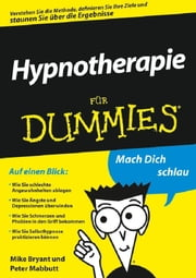 Hypnotherapie für Dummies ebook by Mike Bryant, Peter Mabbutt, Sandra Lautenschläger