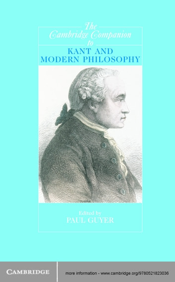 The cambridge companion to kant and modern philosophy ebook by the cambridge companion to kant and modern philosophy ebook by fandeluxe Choice Image