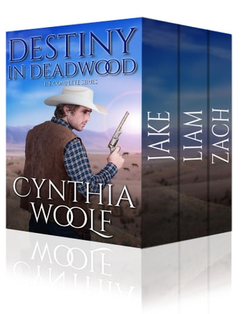 Destiny in Deadwood: The Complete Series ebook by Cynthia Woolf