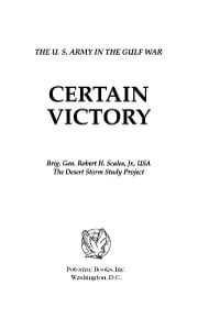 Certain Victory ebook by Robert Scales