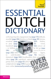Essential Dutch Dictionary: Teach Yourself ebook by Gerdi Quist,Dennis Strik