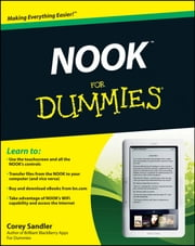NOOK For Dummies ebook by Corey Sandler