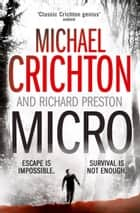 Micro ebook by Michael Crichton, Richard Preston