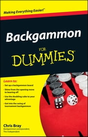 Backgammon For Dummies ebook by Chris Bray