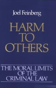 Harm to Others ebook by Joel Feinberg
