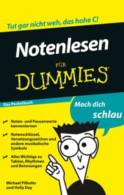 Notenlesen für Dummies ebook by Michael Pilhofer,Holly Day