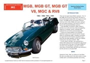 MG GB, MGB GT, MGB GT V8, MGC and RV8 Buyers' Guide ebook by Mellor, Chris