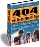 404 Self Improvement Tips ebook by Sven Hyltén-Cavallius