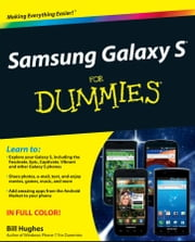 Samsung Galaxy S For Dummies ebook by Bill Hughes