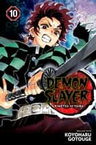Demon Slayer: Kimetsu no Yaiba, Vol. 10 - Human and Demon ebook by Koyoharu Gotouge