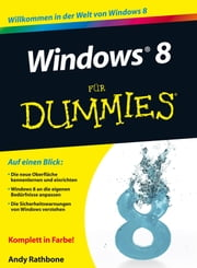 Windows 8 für Dummies ebook by Andy Rathbone, Sabine Lambrich