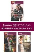 Harlequin Historical November 2015 - Box Set 1 of 2 - Christmas Eve Proposal\The Viscount's Christmas Kiss\Wallflower, Widow...Wife!\His Housekeeper's Christmas Wish\Temptation of a Governess ebook by Carla Kelly, Georgie Lee, Ann Lethbridge,...