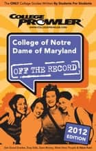 College of Notre Dame of Maryland 2012 ebook by Morgan Randall