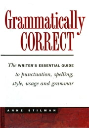 Grammatically Correct ebook by Anne Stilman