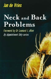 Neck and Back Problems ebook by Jan de Vries