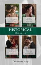 Historical Box Set 1-4/Contracted as His Countess/Christmas with His Wallflower Wife/Her Rags-to-Riches Christmas/How to Tempt a Duke ebook by Louise Allen, Janice Preston, Laura Martin,...