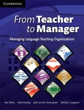 From Teacher to Manager ebook by White, Ron