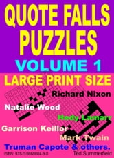 Quote Falls Puzzles ebook by Ted Summerfield