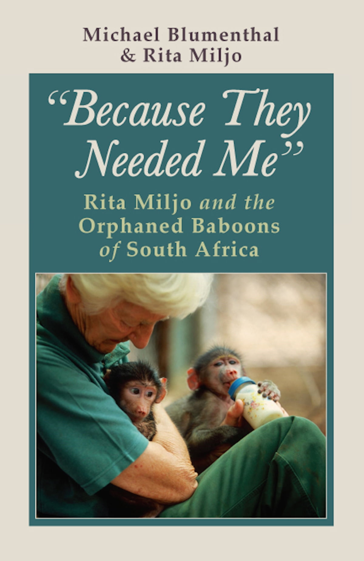 Because They Needed Me Rita Miljo And The Orphaned