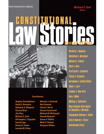 Constitutional Law Stories ebook by Michael Dorf