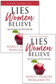 Lies Women Believe/Lies Women Believe Study Guide- 2 book set ebook by Nancy DeMoss Wolgemuth