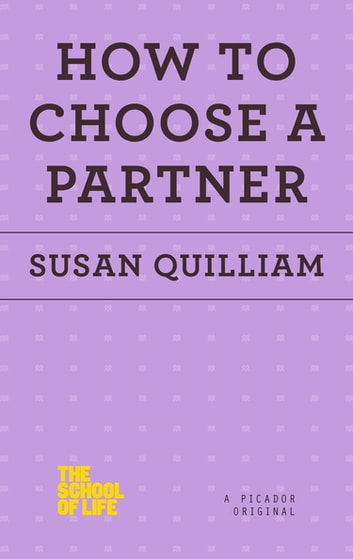 How to Choose a Partner ebook by Susan Quilliam