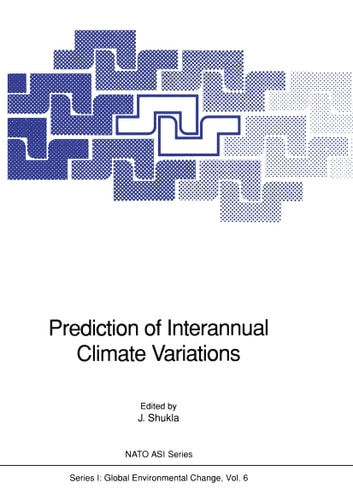 Prediction of Interannual Climate Variations ebook by